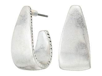The Sak Large Post Hoop Earrings