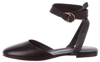 Jenni Kayne Wrap-Around Leather Flats