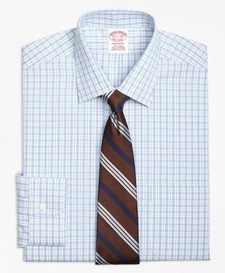 Brooks Brothers Madison Classic-Fit Dress Shirt, Non-Iron Split Check