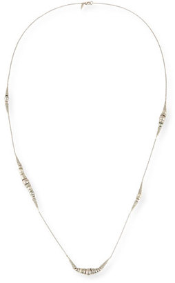 Alexis Bittar Crystal-Encrusted Snake Station Necklace $245 thestylecure.com