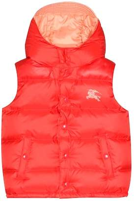 Burberry Reversible down vest