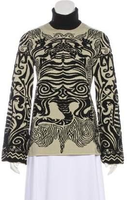 Jean Paul Gaultier Virgin Wool Patterned Sweater