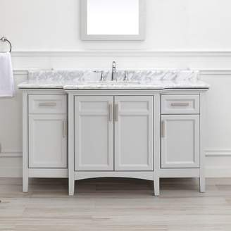 Highland Dunes Benedetto 60 Double Bathroom Vanity Set