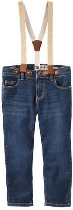 Osh Kosh Oshkosh Bgosh Toddler Girl Suspender Jeans