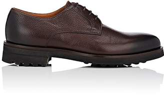 Doucal's Men's Grained Leather Bluchers
