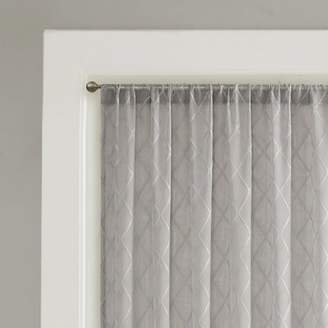 Charlton Home Rennick Geometric Sheer Rod Pocket Single Curtain Panel