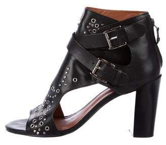Rebecca Minkoff Leather Embellished Sandals