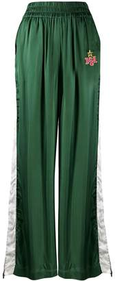 Diesel flared high-waisted trousers