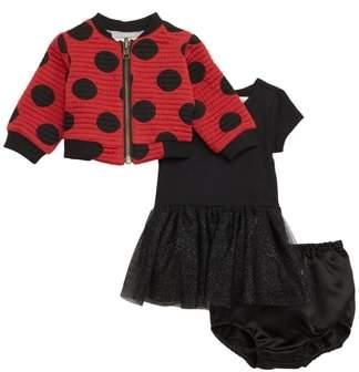 Pippa & Julie x Disney Minnie Mouse Tutu Dress & Reversible Bomber Jacket Set