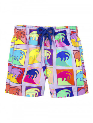 Vilebrequin Alex Israel - Limited Edition Boy Swimsuit $135 thestylecure.com