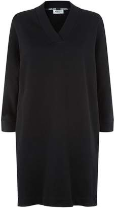 Kenzo Logo Sweatshirt Dress