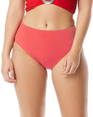 a7a34c47883bf CoCo Reef Coco Contours by High-Waist Solid Bikini Bottoms