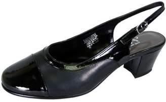 963855614348 at Walmart.com · Peerage Ria (LP0572) Women Extra Wide Width Slingback  Pumps Black 8