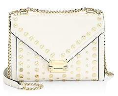 MICHAEL Michael Kors Women's Whitney Large Studded Leather Shoulder Bag