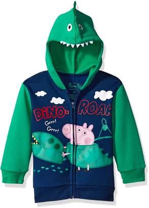 Peppa Pig Toddler Boys George Pig Boys Costume Hoodie