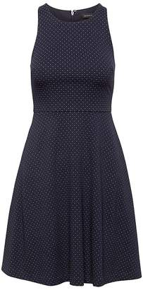 Banana Republic Polka Dot Fit-and-Flare Dress