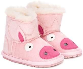 Emu piggy boots