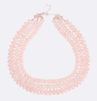 Avenue Blush Bead Layered Necklace