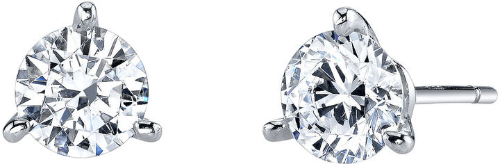 FINE JEWELRY DiamonArt Cubic Zirconia 1 CT. T.W. Stud Earrings