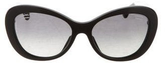 Chanel CC Cat-Eye Sunglasses