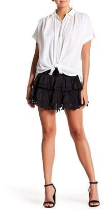 Blend of America Muche et Muchette Tiered Silk Skirt
