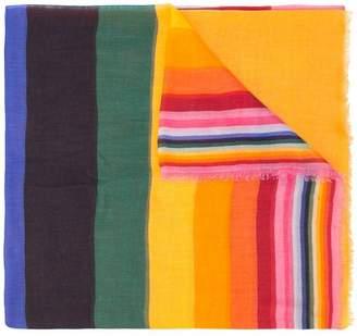 Carolina Herrera striped scarf