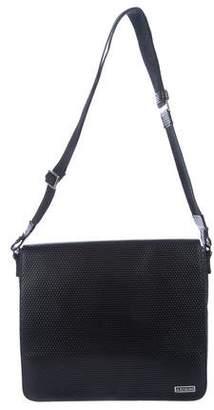 a. testoni a.testoni Textured Messenger Bag