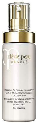 Clé de Peau Beauté Protective Fortifying Emulsion SPF 22, 4.2 oz.