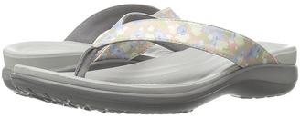Crocs - Capri V Graphic Women's Sandals $40 thestylecure.com