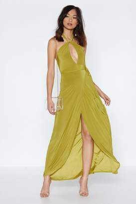 Nasty Gal Get a Look In Maxi Dress