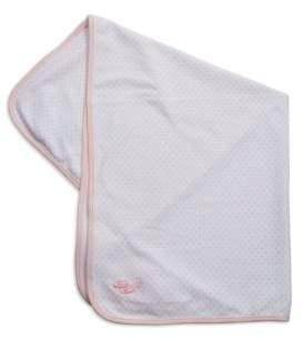 Little Me Polka Dot Patterned Cotton Blanket