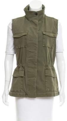 J Brand Arden Distressed Vest