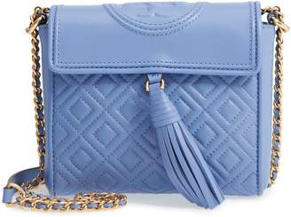 Tory Burch Fleming Quilted Leather Crossbody Bag
