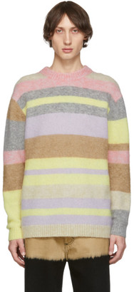 Acne Studios Multicolor Wool and Mohair Sweater