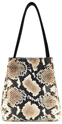 Rejina Pyo Rita snake-printed leather tote