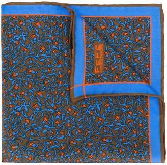 fe-fe floral print pocket square