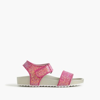 Girls' glitter slide sandals $49.50 thestylecure.com