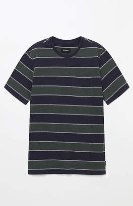 Brixton Hilt Washed Stripe Pocket T-Shirt