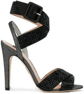 Rodo strappy crystal embellished sandals