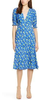 Diane von Furstenberg Jemma Print A-Line Dress