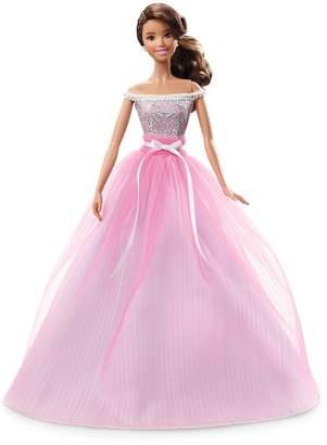 Barbie Birthday Wishes Brunette Hair & Brown Eyes Doll