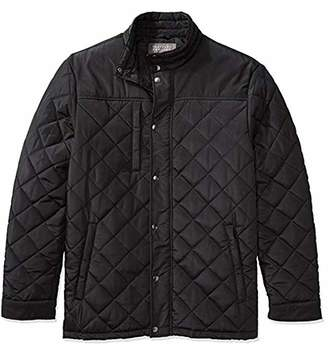 The Plus Project Men's Plus Size Water Resistant Windbreaker Outerwear Down Coat Winter Quilted Barn Jacket 3X-Large