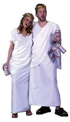 Fun World Costumes Fun World Unisex-Adult's Toga Adlt Cstm