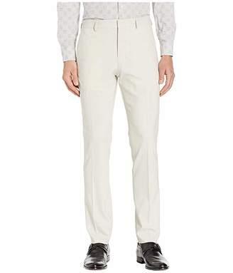 Perry Ellis Portfolio Very Slim-Fit Solid Water Repellent Dress Pants