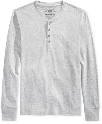 American Rag Men's Henley, Only at Macy's $30 thestylecure.com