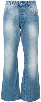 Anine Bing Stella faded wash cropped jeans