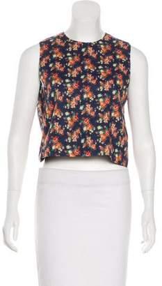 Roseanna Sleeveless Floral Top