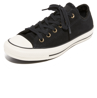 Converse Chuck Taylor All Star Sherpa Sneakers $65 thestylecure.com