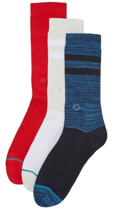 STANCE Uncommon Solids 3 Pack Socks $36 thestylecure.com