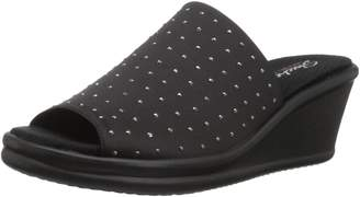cd5ab5fb48f8 at Amazon Canada · Skechers Women s RUMBLERS - Silky Smooth Wedges